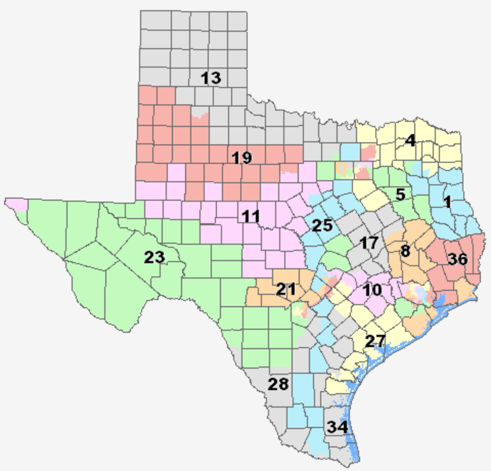 Federal courts found Texas maps intentionally discriminate
