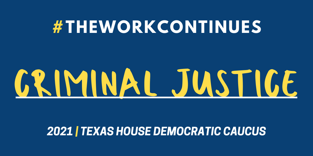 The Work Continues: Criminal Justice Reform