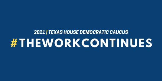 Texas HDC in 2021: #TheWorkContinues